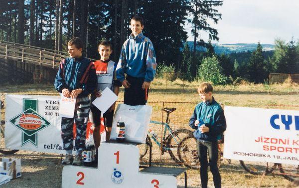 Jiří Ňumi Novák - první  závod a hned vítězný...