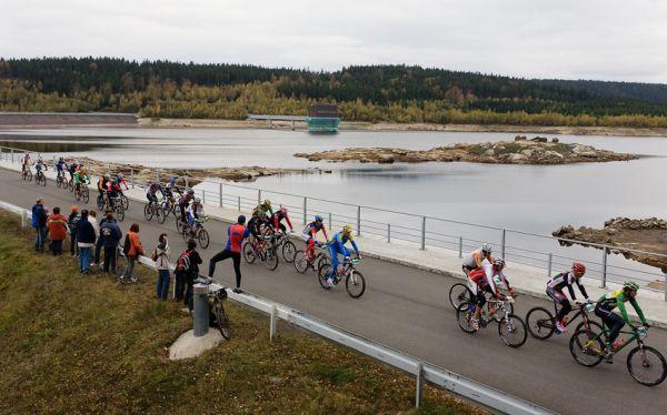 Nova Author Cup 2009 - Josefodolská přehrada byla v době závodu hodně povypuštěná
