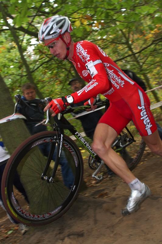Cyklokros Toi Toi Cup - 10.10. 2009 Kolín - Ondřej Bambula