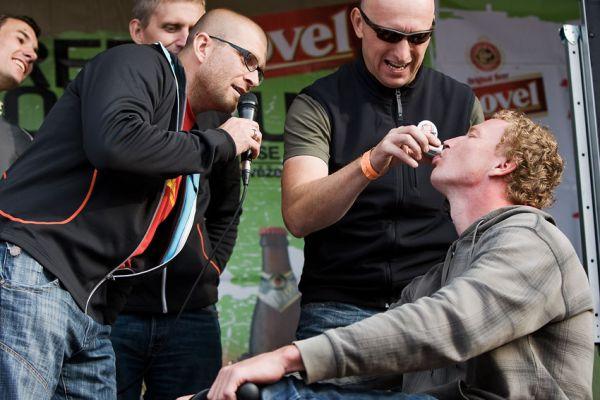"Free Litovel Bobr Cup 2009 - Kamil Mr�zek si musel d�t i ""B"" vzorek"