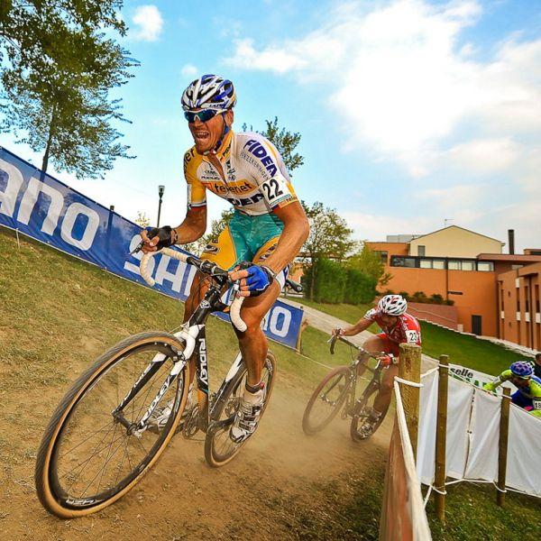 Světový pohár v cyklokrosu - 1. závod 3.10. 2009, Treviso/Itálie - Petr Dlask, foto: Armin Küstenbrück