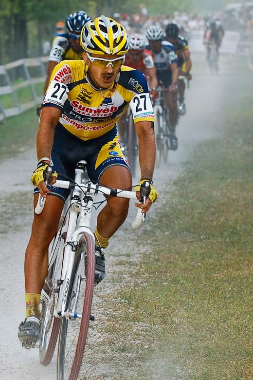Světový pohár v cyklokrosu - 1. závod 3.10. 2009, Treviso/Itálie - Lukáš Klouček, foto: Armin Küstenbrück