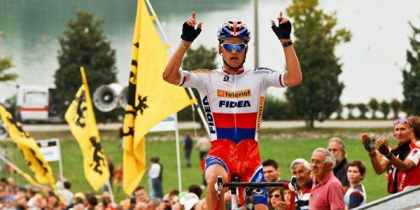 Světový pohár v cyklokrosu - 1. závod 3.10. 2009, Treviso/Itálie - Zdeněk Štybar, foto: Armin Küstenbrück