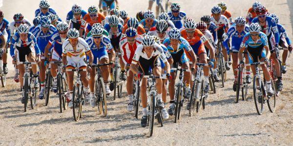 Světový pohár v cyklokrosu - 1. závod 3.10. 2009, Treviso/Itálie - start U23, foto: Armin Küstenbrück