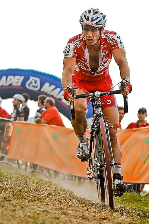 Světový pohár v cyklokrosu - 1. závod 3.10. 2009, Treviso/Itálie - Martin Bína, foto: Armin Küstenbrück