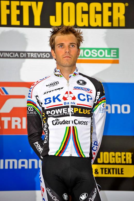 Světový pohár v cyklokrosu - 1. závod 3.10. 2009, Treviso/Itálie - Niels Albert, foto: Armin Küstenbrück