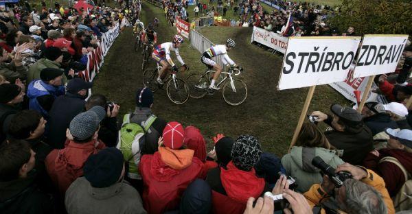 Světový pohár v cyklokrosu #2, Plzeň 18.10.2009 - Štybar měl u fanoušků velkou podporu