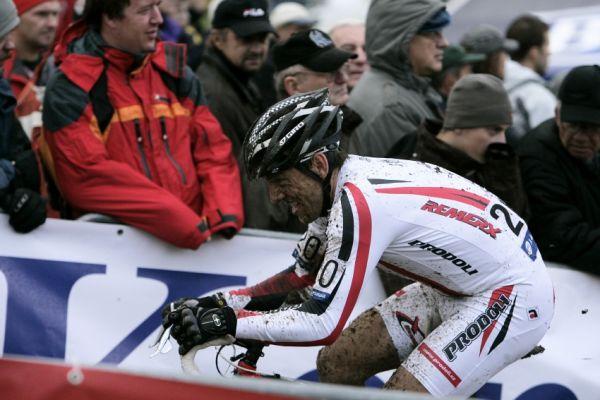 Světový pohár v cyklokrosu #2, Plzeň 18.10.2009 - Kamil Ausbuher