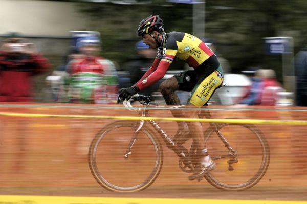 Sv�tov� poh�r v cyklokrosu #2, Plze� 18.10.2009 - Sven Nijs