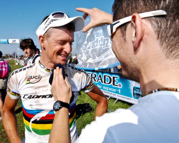 Roc d'Azur, Frejus /FRA/ 2009 - Roel Paulissen v cíli maratonu