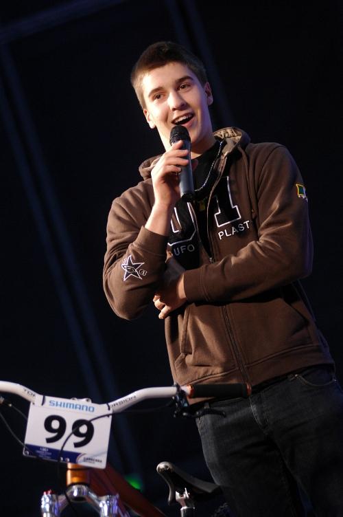 Bike Brno '09 - Faces: bronzový fourcrossař z MS Jakub Říha