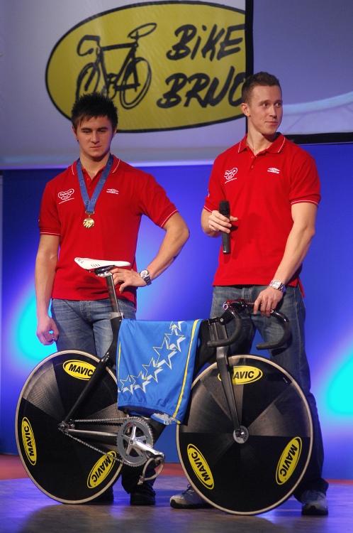 Bike Brno '09 - Faces: dráhoví mistři Evropy