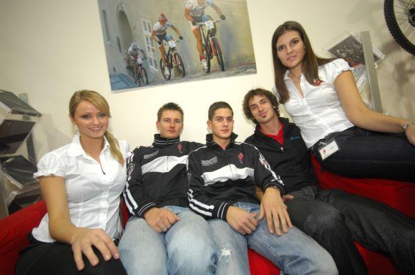 Bike Brno '09 - Faces: Pavel Boudný, Dominik Buksa a Jiří Novák