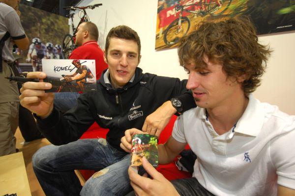 Bike Brno '09 - Faces: Jarda Kulhavý a Jirka Novák