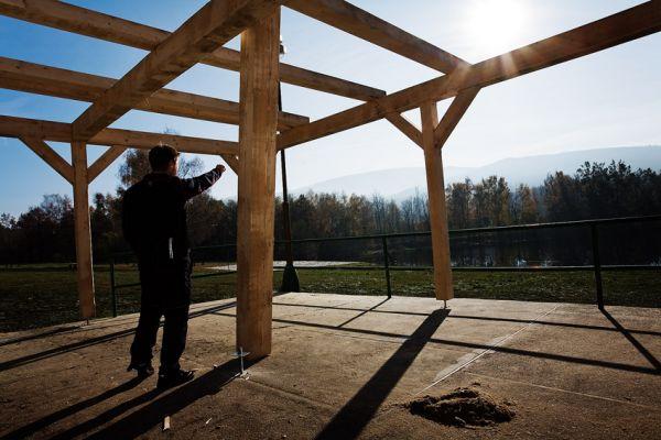ČeMBA Singltrek pod Smrkem 2009  - na přírodním koupališti v Novém Městě p. Smrkem bude zázemí se vším všudy