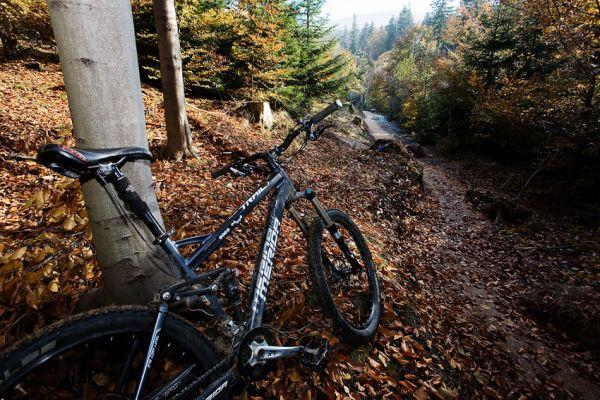 ČeMBA Singltrek pod Smrkem 2009 - podzimní romantika na stezkách v Jizerských horách