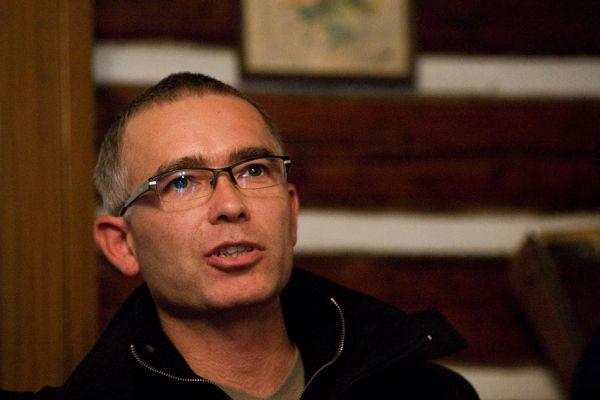 ČeMBA Singltrek pod Smrkem 2009 - ing. Pavel Smutný - starosta Nového Města p. Smrkem
