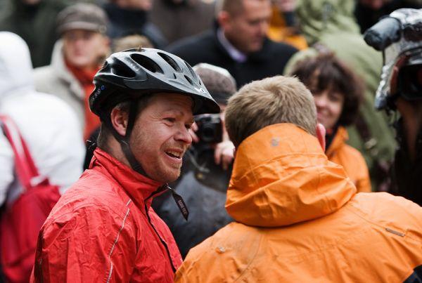 ČeMBA Singltrek pod Smrkem 2009 - Tomáš Kvasnička a Petr Slavík z Čemby si mohli oddychnout, že to zvládli
