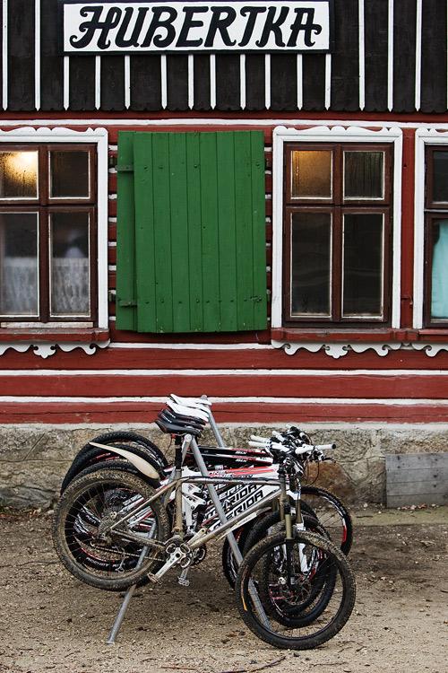 ČeMBA Singltrek pod Smrkem 2009 - Merida na Hubertce