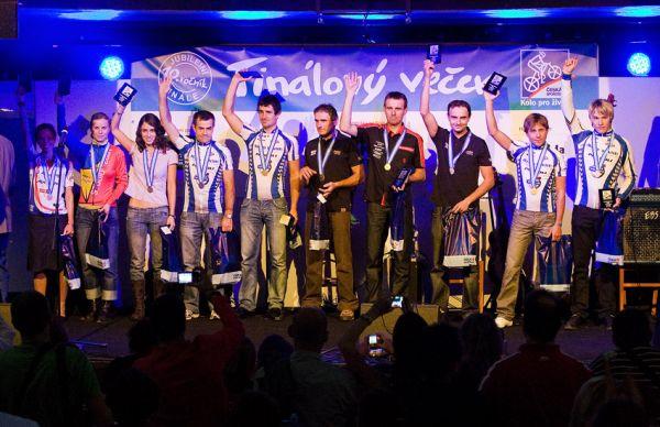 KPŽ Finálový večer 2009 - druzí v celkovém pořadí Prestige Trophy 1/2 Marathon