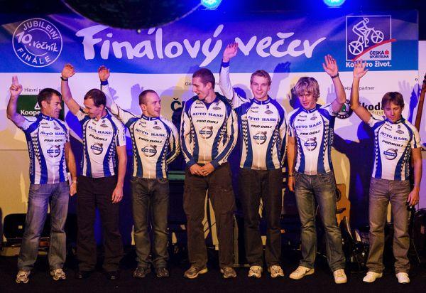 KPŽ Finálový večer 2009 - třetí nejlepší družstvo (Volvo Auto Hase 3) v týmové soutěži