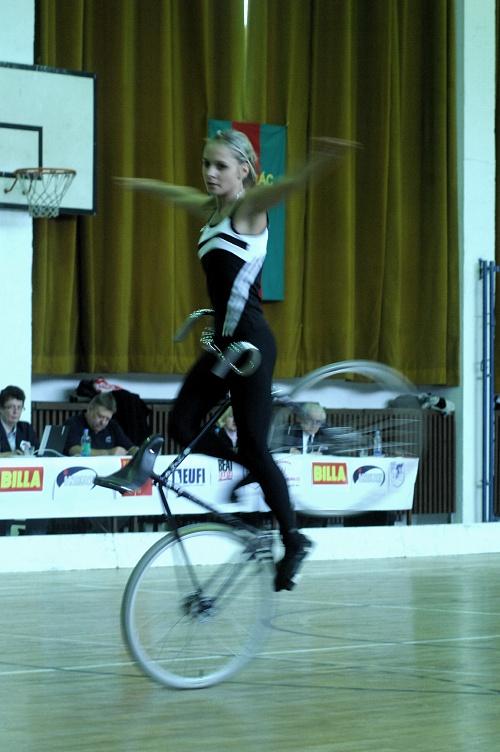 Mistrovství ČR v krasojízdě a kolové 2009: Nicole Frýbortová