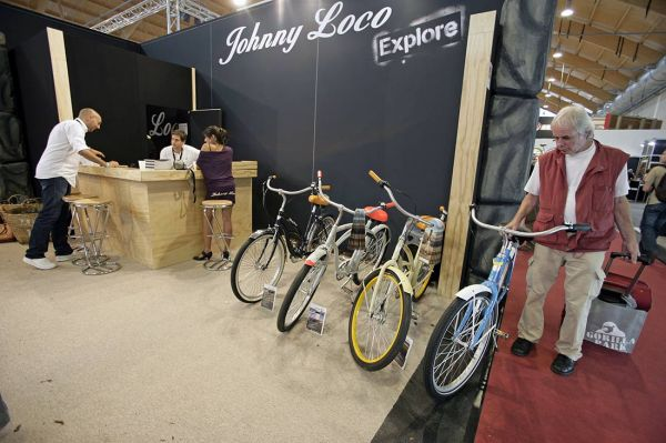 Johnny Loco 2010 na Eurobike 2009