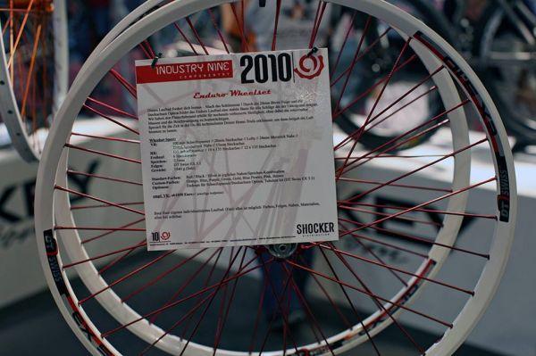 Industry Nine 2010 na Eurobike 2009