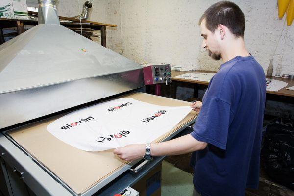 Eleven 2009 - zakázková výroba dresů: italský lis
