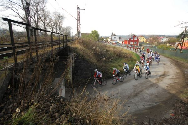 Winter Trans Brdy 2009 - první stovky metrů