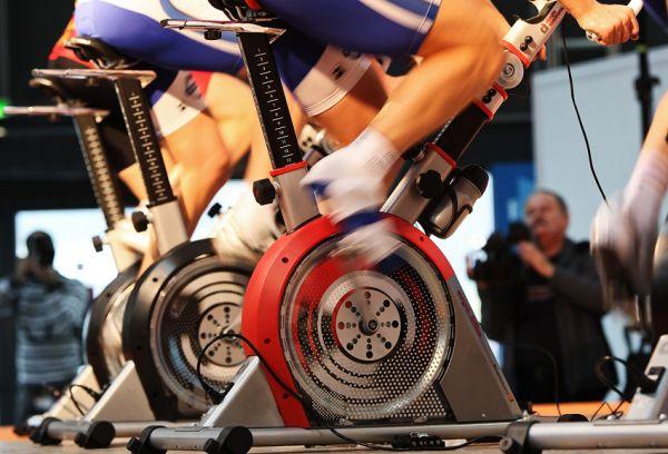 Bike Brno 2009 - závody na trenažérech
