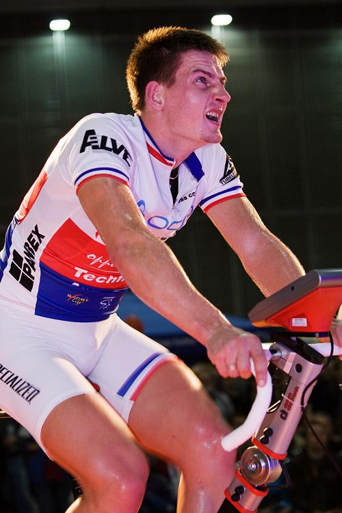 Bike Brno 2009 - závody na trenažérech - Pavel Boudný