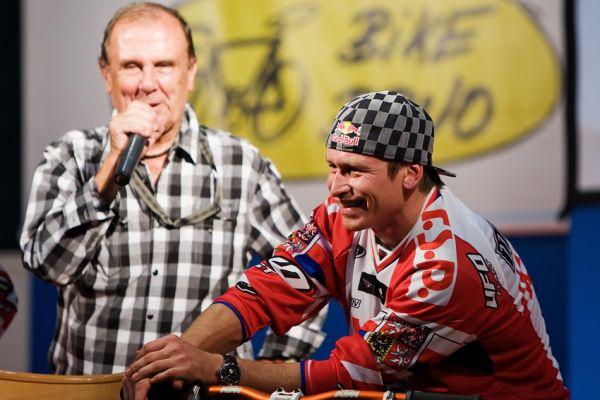 Bike Brno 2009 - Robert Bakalář a Michal Mároši v dobrém rozmaru