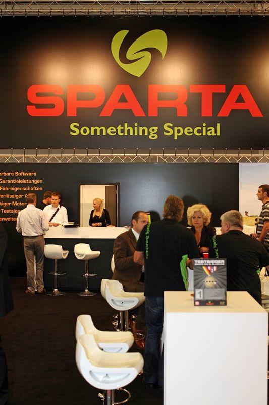 Sparta 2010 na Eurobike 2009