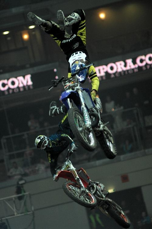 FMX Gladiator Games 2009, Praha:
