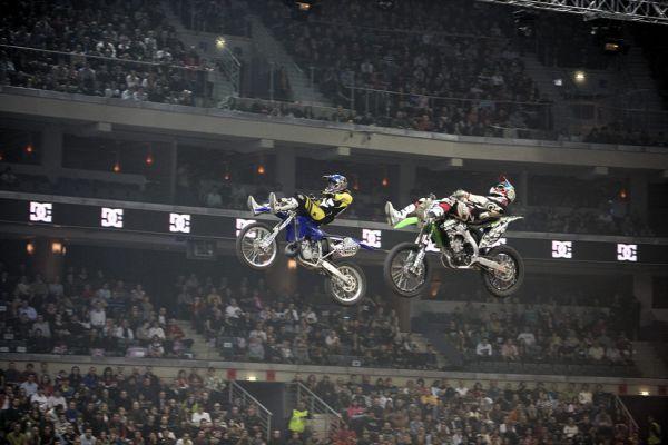MTV FMX Gladiator Games 2009 - synchronizace bez legrace