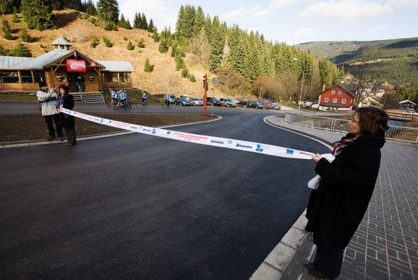 Pec pod Sněžkou 2009 - slavnostní otevření - na nové Točně