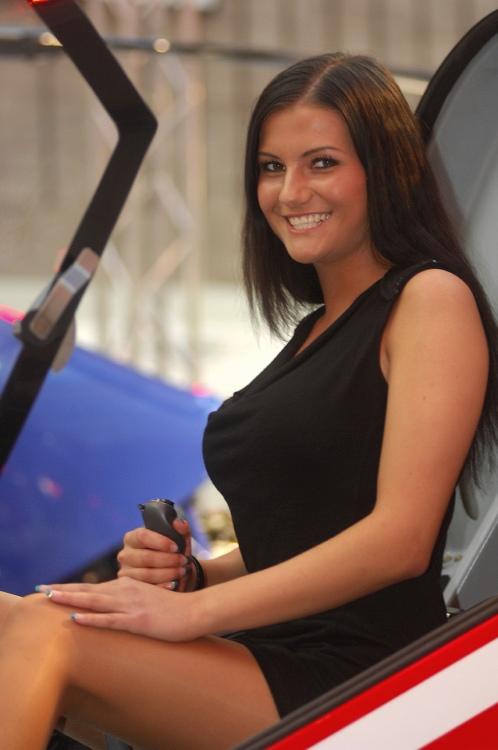 MMotion 2009: slečna pilotka
