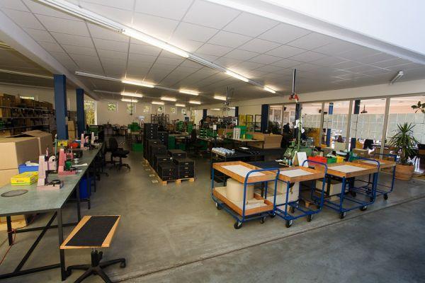 Rohloff 2009 - montážní hala v době přestávky