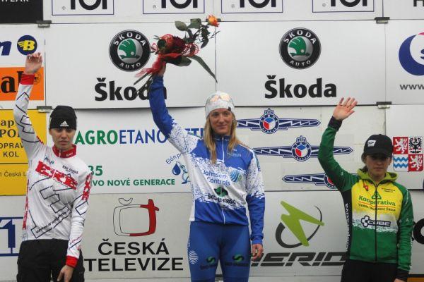 Toi Toi Cup Holé Vrchy 2009- ženy: 1. Kyptová, 2. Mikulášková, 3. Pirzkallová