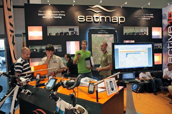 SatMap 2010 na Eurobike 2009