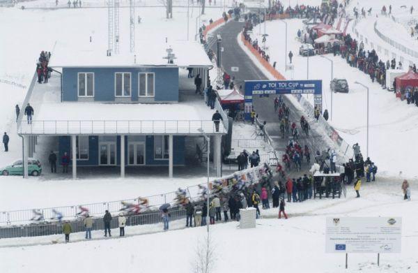 Mistrovství ČR v cyklokrosu 2010, Tábor: start mužů