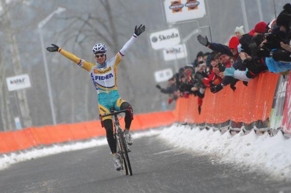 Mistrovství ČR v cyklokrosu 2010, Tábor: Zdeněk Štybar počtvrté mistrem ČR