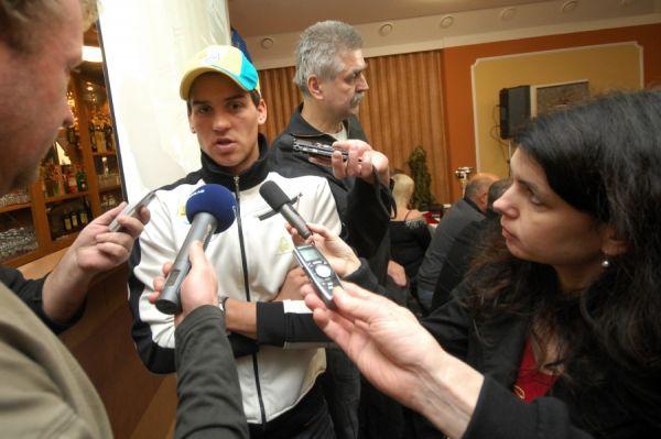MČR v cyklokrosu 2010 se blíží - Zdeněk Štybar v zajetí médií