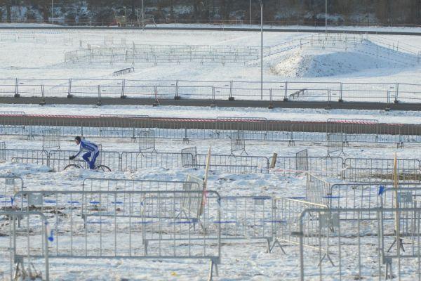 MČR v cyklokrosu 2010 se blíží - spodní část trati