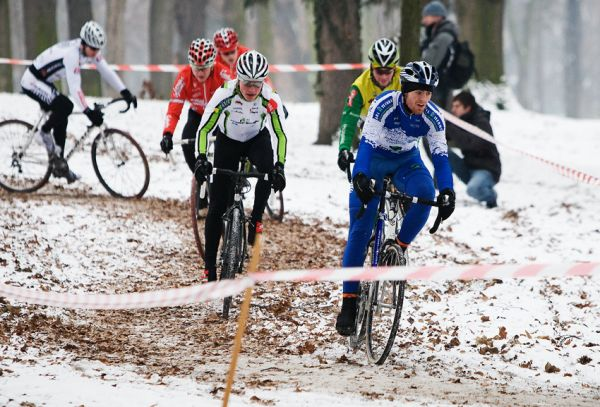 Vánoční cyklokros Praha-Stromovka 2009