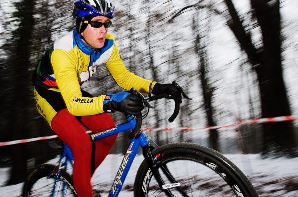 Vánoční cyklokros Praha-Stromovka 2009: Petr Novotný