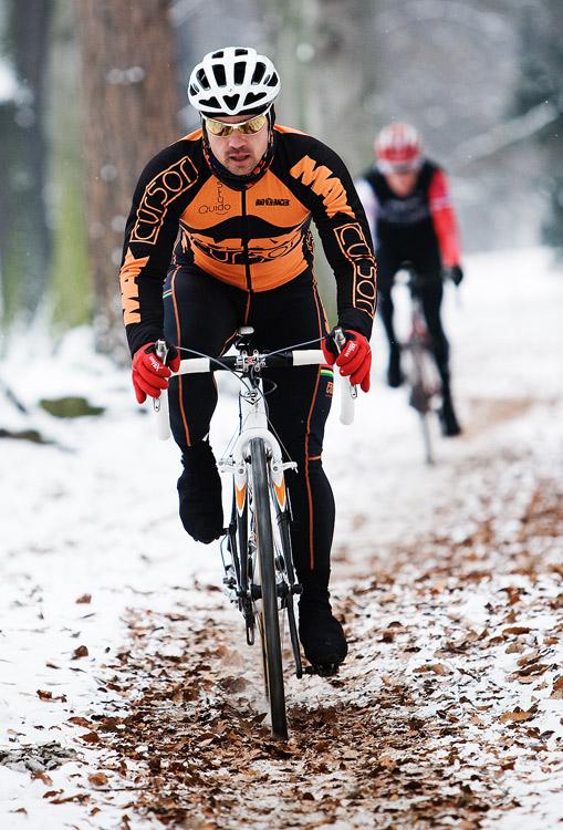 Vánoční cyklokros Praha-Stromovka 2009: Zdeněk Mlynář