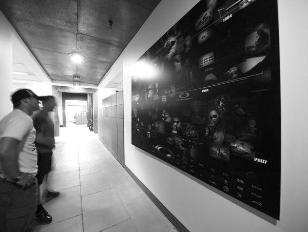 """Michal Prokop v Oakley - """"Genesis wall"""""""
