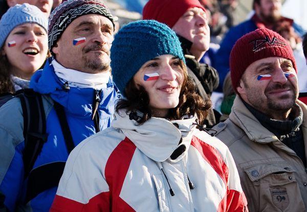 MS cyklokros Tábor 2010 - fanoušci, atmosféra...: v Táboře se bylo na co koukat